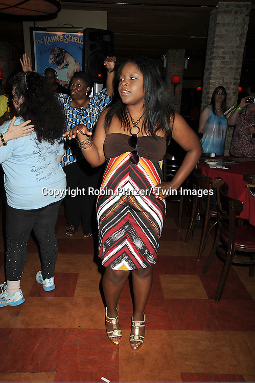 actress Shenell Edmonds attending the 5th Annual Sean Ringgold Fan Club Party on August 12, 2011 at HB Burger's Sunken Bar in New York City.