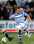 Nederland, Zwolle, 13 april 2012.Jupiler League.Seizoen 2011-2012.Nassir Maachi (r.) van FC Zwolle
