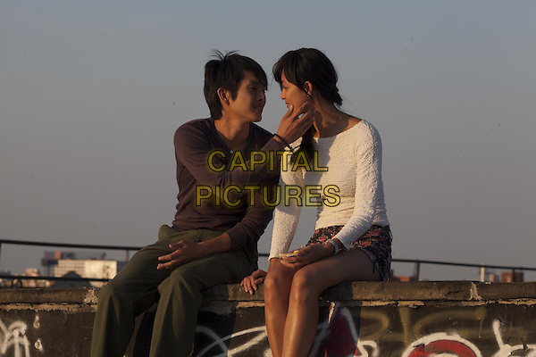 Justin Chon, Shuya Chang<br /> in Revenge of the Green Dragons (2014) <br /> *Filmstill - Editorial Use Only*<br /> CAP/FB<br /> Image supplied by Capital Pictures