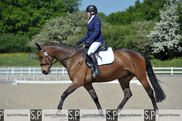 Class 4. Unaffiliated dressage. Brook Farm training centre. Essex. 19/05/2018. ~ MANDATORY Credit Garry Bowden/Sportinpictures - NO UNAUTHORISED USE - 07837 394578