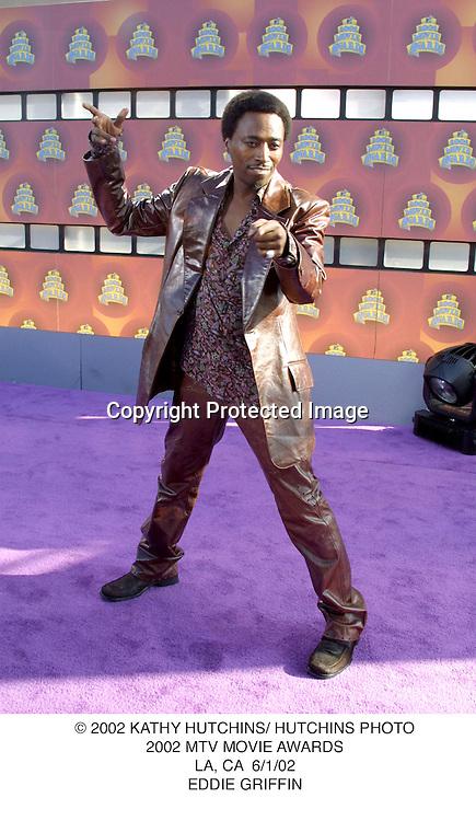 © 2002 KATHY HUTCHINS/ HUTCHINS PHOTO.2002 MTV MOVIE AWARDS.LA, CA  6/1/02.EDDIE GRIFFIN