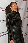 Grammy Award winning musician Alicia Keys arrives at the Recording Academy Producers & Engineers Wing event honoring Alicia Keys and Swizz Beatz at 30 Rockefeller Plaza in New York City, during Grammy Week on January 25, 2018.