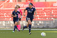 Bridgeview, IL, USA - Sunday, May 29, 2016: Sky Blue FC forward Kim DeCesare (12) during a regular season National Women's Soccer League match between the Chicago Red Stars and Sky Blue FC at Toyota Park. The game ended in a 1-1 tie.