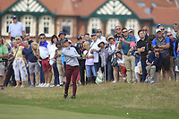 Jaye Marie Green (USA) on the 2nd fairway during Round 3 of the Ricoh Women's British Open at Royal Lytham &amp; St. Annes on Saturday 4th August 2018.<br /> Picture:  Thos Caffrey / Golffile<br /> <br /> All photo usage must carry mandatory copyright credit (&copy; Golffile | Thos Caffrey)