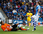 Keeper Ruud Boffin saves from Liam Craig