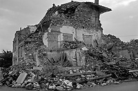 Artegna, Terremoto del Friuli del Maggio 1976.<br /> Artegna, Friuli earthquake in May 1976.