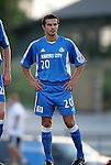 24 August 2004: Igor Simutenkov before the game. The Kansas City Wizards defeated the San Jose Earthquakes 1-0 at Blue Valley District Athletic Complex in Overland Park, KS in a semifinal game in the 2004 Lamar Hunt U.S. Open Cup..