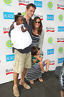 Peter Hermann, Mariska Harigtay and daughter Amaya Hermann at the 2012 Baby Buggy Bedtime Bash hosted by Jessica And Jerry Seinfeld on June 6, 2012 in New York City. © mpi44/MediaPunch Inc. ***NO GERMANY***NO AUSTRIA***