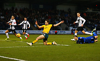 26th December 2019; St Mirren Park, Paisley, Renfrewshire, Scotland; Scottish Premiership Football, St Mirren versus Celtic; James Forrest of Celtic scores and makes it 2-0 in the 32nd minute - Editorial Use