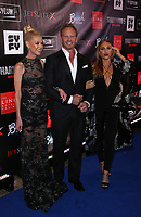 06 August 2017 - Las Vegas, NV -  Tara Reid, Ian Ziering, Cassie Scerbo.  Sharknado 5 Global Swarming red carpet premiere at Linq Hotel and Casino. Photo Credit: MJT/AdMedia