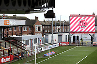 A general view of Highbury Stadium, home of Fleetwood Town FC<br /> <br /> Photographer Rich Linley/CameraSport<br /> <br /> The EFL Sky Bet League One - Fleetwood Town v Oxford United - Saturday 12th January 2019 - Highbury Stadium - Fleetwood<br /> <br /> World Copyright &copy; 2019 CameraSport. All rights reserved. 43 Linden Ave. Countesthorpe. Leicester. England. LE8 5PG - Tel: +44 (0) 116 277 4147 - admin@camerasport.com - www.camerasport.com
