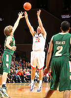 Nov. 12, 2010; Charlottesville, VA, USA;  during the game at the John Paul Jones Arena. Virginia won 76-52.  Mandatory Credit: Andrew Shurtleff