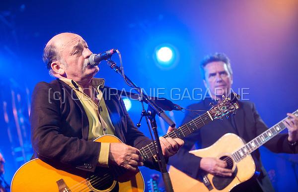 Belgian singer-songwriter Lieven Tavernier performing at the Radio 1 Sessies, in Antwerp (Belgium, 19/11/2015)