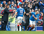 Graham Dorrans off for Ryan Hardie