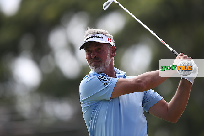 Darren Clarke (NIR) plays to the 8th during Round Two of the Africa Open 2015 at the East London Golf Club, East London, Eastern Cape, South Africa. Picture:  David Lloyd / www.golffile.ie. 06/03/2015