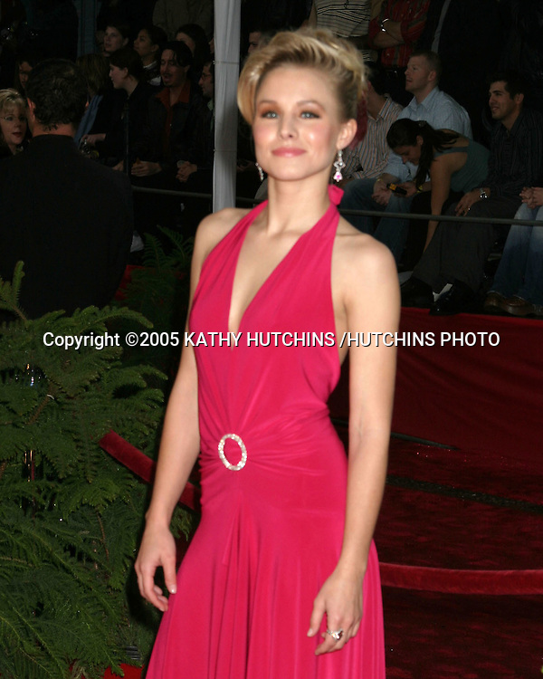 ©2005 KATHY HUTCHINS /HUTCHINS PHOTO.PEOPLE'S CHOICE AWARDS.PASADENA, CA.JANUARY 9, 2005..KRISTEN BELL