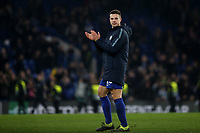 Cesar Azpilicueta of Chelsea applauds the home fans at the end of the match during Chelsea vs Malmo FF, UEFA Europa League Football at Stamford Bridge on 21st February 2019