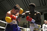 Samuel Antwi (white shorts) defeats Alexander Zeledon during a Boxing Show at York Hall on 15th February 2020
