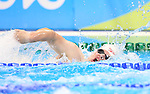 Rio de Janeiro-11/9/2016- Canadian swimmer  Zack McAllister competes in the men's 100m freestyle finals at the Olympic Aquatic Centre during the 2016 Paralympic Games in Rio. Photo Scott Grant/Canadian Paralympic Committee