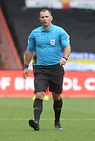 Referee Tim Robinson during the game<br /> <br /> Photographer Ian Cook/CameraSport<br /> <br /> The EFL Sky Bet Championship - Bristol City v Leeds United - Sunday 4th August 2019 - Ashton Gate Stadium - Bristol<br /> <br /> World Copyright © 2019 CameraSport. All rights reserved. 43 Linden Ave. Countesthorpe. Leicester. England. LE8 5PG - Tel: +44 (0) 116 277 4147 - admin@camerasport.com - www.camerasport.com