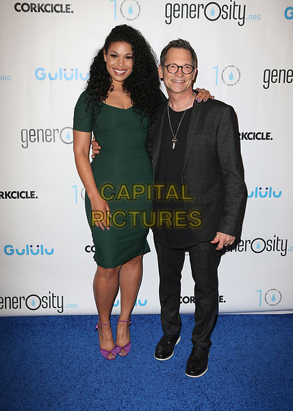 BEVERLY HILLS, CA - March 21: Jordin Sparks, Philip Wagner, At Generosity.org Fundraiser For World Water Day At Montage Hotel In California on March 21, 2017. <br /> CAP/MPI/FS<br /> &copy;FS/MPI/Capital Pictures