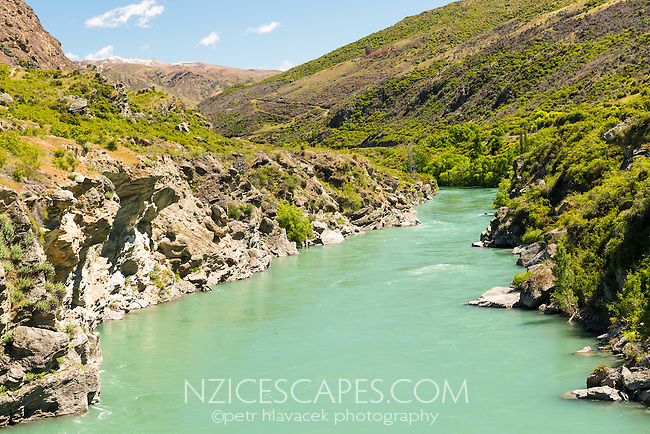 Kawarau River, Central Otago, South Island, New Zealand, NZ