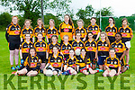 The Austin Stacks team that participated  in the Comórtas Peil John Egan in Castleisland on Friday