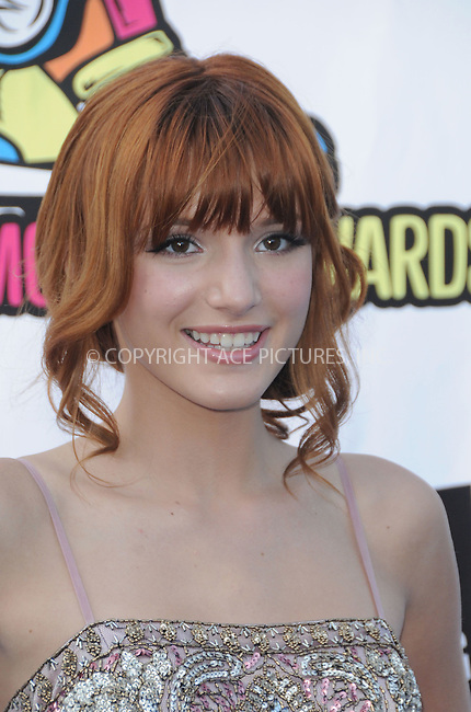 WWW.ACEPIXS.COM . . . . . ....August 14, 2011, LA...  Bella Thorne arrives at the 2011 VH1 Do Something Awards at the Hollywood Palladium on August 14, 2011 in Hollywood, California......Please byline: PETER WEST - ACE PICTURES.... *** ***..Ace Pictures, Inc: ..Philip Vaughan (212) 243-8787 or (646) 679 0430..e-mail: info@acepixs.com..web: http://www.acepixs.com.
