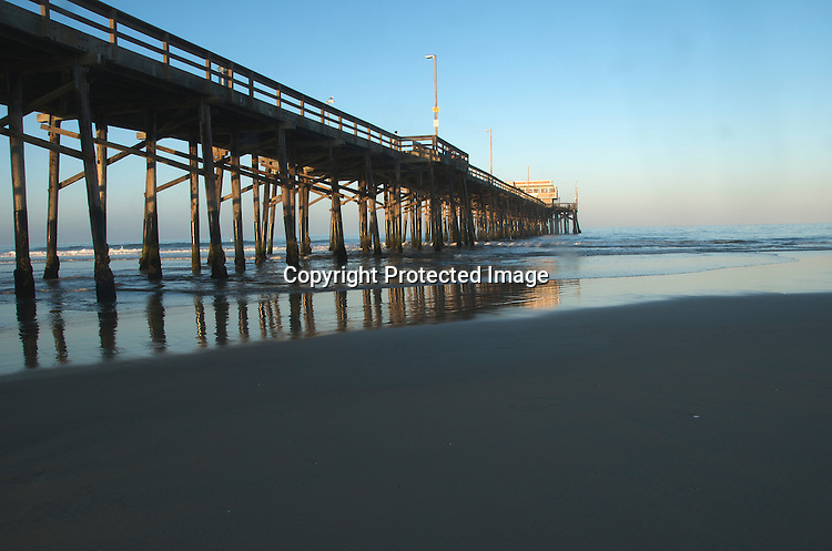 Newport beach California Stock Photo