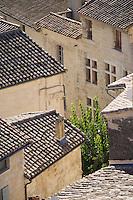 Europe/France/Languedoc-Roussillon/30/Gard/ Uzès: Les toits d'Uzés vus  depuis la tour  Bermonde du Duché