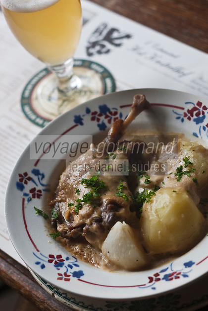 Europe/France/Nord-Pas-de-Calais/59/Nord/Cassel:  Canard au speculoos recette de Estaminet T'Kastelhoof