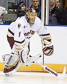 Cory Schneider (Boston College - Marblehead, MA) is announced as a starter before the 2007 NCAA Northeast Regional Final on Sunday, March 25, 2007 at the Verizon Wireless Arena in Manchester, New Hampshire.