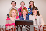 The parent's associations of Killarney three secondary schoools have come together to host a talk on internet safety on February 29th. .Back L-R Bernadette O'Donoghue, Mary O'Shea and Mernie Lenihan.Back L-R Abbey O'Donoghue,  Emma Lenihan and Clare O'Shea .. ..