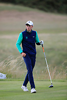 Luke O'Neill of Ireland during Day 3 / singles of the Boys' Home Internationals played at Royal Dornoch Golf Club, Dornoch, Sutherland, Scotland. 09/08/2018<br /> Picture: Golffile | Phil Inglis<br /> <br /> All photo usage must carry mandatory copyright credit (&copy; Golffile | Phil Inglis)