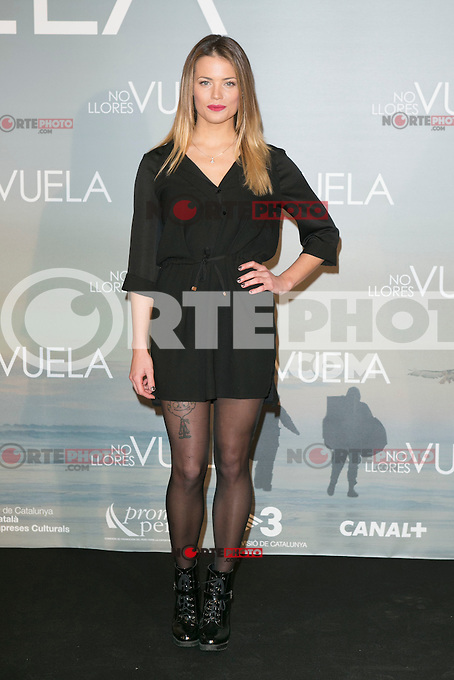 Alison Eckman attends Claudia&acute;s Llosa &quot;No Llores Vuela&quot; movie premiere at Callao Cinema, Madrid,  Spain. January 21, 2015.(ALTERPHOTOS/)Carlos Dafonte) /NortePhoto<br />