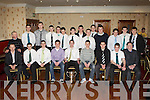 Minor County Championship winners St Kieran's football team and officials enjoying their celebration dance in the Crown Hotel Castleisland on Thursday night