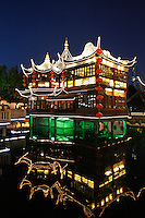 Yuyuan gardens in Shanghai, China, on May 11, 2008. Photo by Lucas Schifres/Pictobank