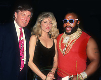 Donald Trump Marla Maples Mr. T 1991<br /> Photo By John Barrett/PHOTOlink