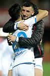Real Club Deportivo de la Coruña's team celebrate victory  during La Liga 2 match. February 10,2019. (ALTERPHOTOS/Alconada)