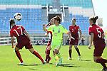 Kumi Yokoyama (JPN), <br /> MARCH 6, 2015 - Football / Soccer : <br /> Algarve Women's Football Cup 2015 Group C match <br /> between Japan 3-0 Portugal <br /> at Algarve Stadium in Faro, Portugal. <br /> (Photo by YUTAKA/AFLO SPORT)[1040]