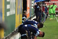 SÃO PAULO,SP, 19.05.2015 - FUTEBOL-PALMEIRAS - Oswaldo de Oliveira do Palmeiras durante jogo treino contra a Portuguesa na Academia de Futebol na Barra Funda, região oeste de São Paulo, nesta terça-feira 19. (Foto: Bruno Ulivieri/ Brazil Photo Press)