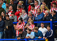 Lincoln City fans enjoy the pre-match atmosphere<br /> <br /> Photographer Andrew Vaughan/CameraSport<br /> <br /> The EFL Sky Bet League One - Macclesfield Town v Lincoln City - Saturday 15th September 2018 - Moss Rose - Macclesfield<br /> <br /> World Copyright &copy; 2018 CameraSport. All rights reserved. 43 Linden Ave. Countesthorpe. Leicester. England. LE8 5PG - Tel: +44 (0) 116 277 4147 - admin@camerasport.com - www.camerasport.com