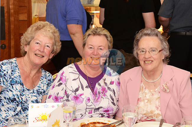 Mary Collins, Rosaleen Murphy and Anne Smith at the Drogheda Community Services Day Care Summer Party.
