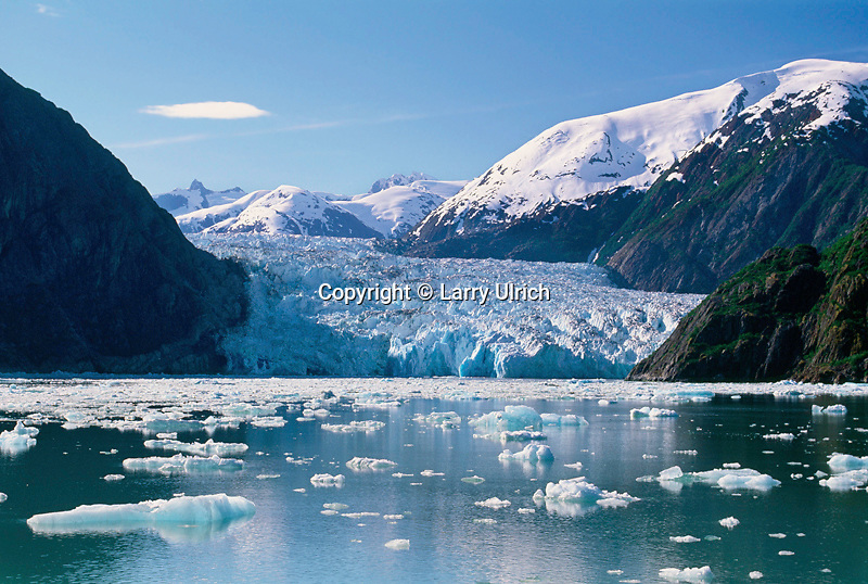 South Sawyer Glacier Coast Mountains<br />    from Tracy Arm<br /> Tracy Arm-Fords Terror Wilderness<br /> Tongass National Forest, Alaska