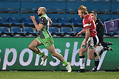 January 12th 2018, Stade Armandie , Agen, France;  European Rugby Challenge Cup, SU Agen Lot-et-Garrone;  Charlie Sharples (glo) with an open field run