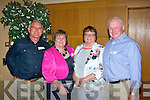 brothers and sisters who attended the Banna National School reunion last Friday night in Ballyroe Hts hotel were l-r: Tom Long, Anne O'Connell, Mary Golden and John Long.