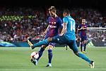 Supercopa de Espa&ntilde;a - Ida.<br /> FC Barcelona vs R. Madrid: 1-3.<br /> Ivan Rakitic vs Casemiro.