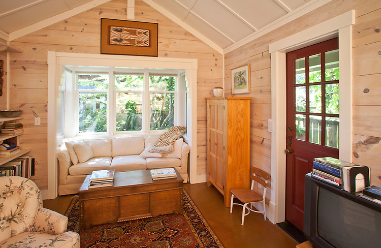 Cottage home, gardens, town of Langley, Whidbey Island, Washington State, Pacific Northwest, The Cottage Company, Developers,  Ross Chapin, Architect,