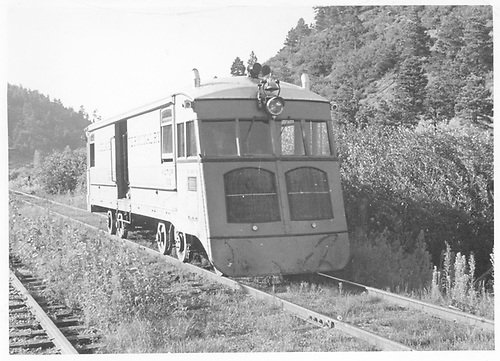 3/4 right-side view of MT motor #102 at Green Mountain Falls.<br /> Midland Terminal  Green Mountain Falls, CO