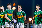 Sean O'Shea and Tadhg Morley Paul Geaney Kerry players before the Allianz Football League Division 1 Round 3 match between Kerry and Dublin at Austin Stack Park in Tralee, Kerry on Saturday night.